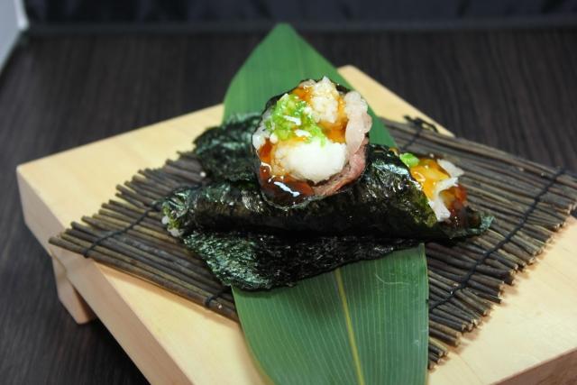 子供に人気の手巻き寿司