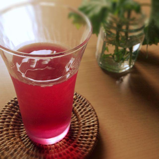 紫蘇ジュース 作り方