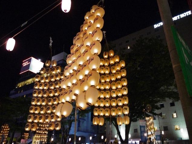 秋田竿燈まつり 2015