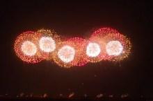 こうのす花火大会 2015