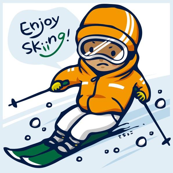 修学旅行 スキー 服装
