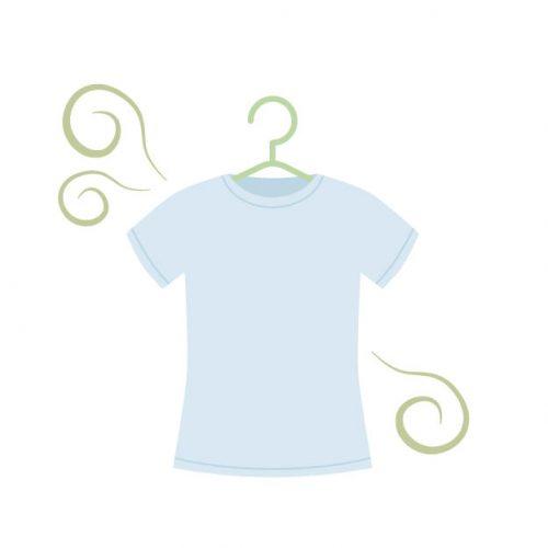 Tシャツ 臭い 取れない 対策