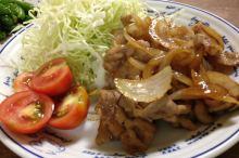 豚の生姜焼き 作り方