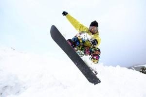 スノーボード・ジャンプ