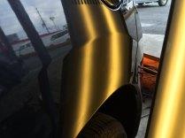 日産デイズ Rクオーターパネルのヘコミ修理施工後
