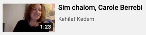 Chant Sim Shalom