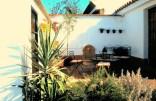image of secret courtyard in our garden at Cortijo Las Viñas