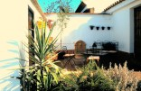 image of secret courtyard in our garden at Cortijo Las Viñas