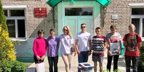 Выпускной в Копыльской школе интернат