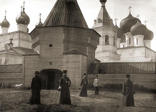 Николо-корельский мужской монастырь, северодвинск. старые ...