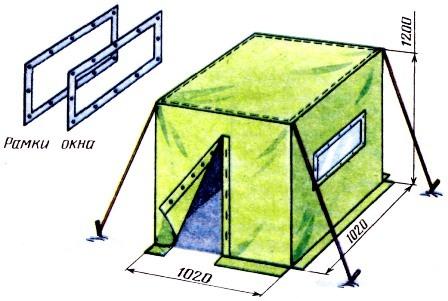 Палатка своими руками