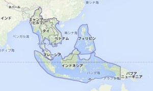 東南アジア_地図