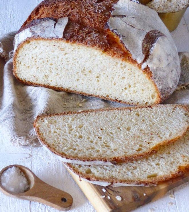 Haferflocken Buttermilch Brot