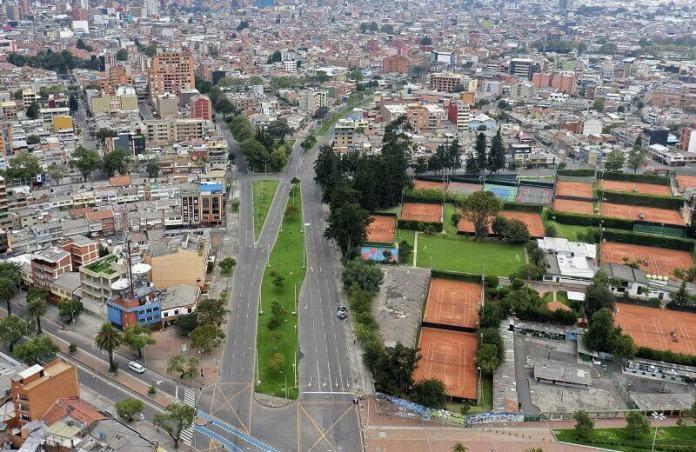 Bogota ciudades vacías por coronavirus