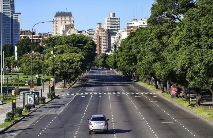 Buenos aires ciudades vacías por coronavirus