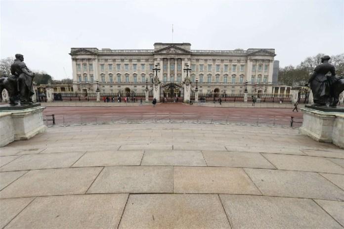 Palacio de Buckinham ciudades vacías por coronavirus