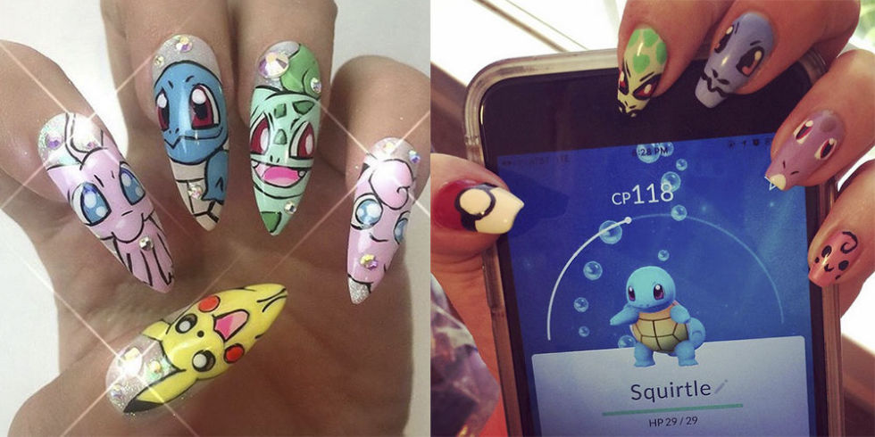 pokemon go nail