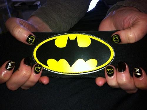 Nail-decoration-batman