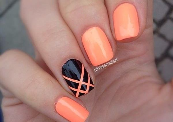 nail-art-en-color-naranja