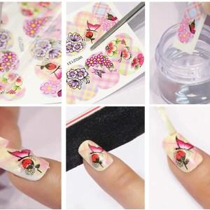 Pegatinas para Diseños de Uñas