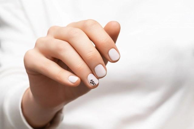 decoraciones de uñas sencillas semipermanentes
