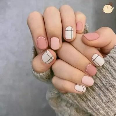 Diseños y decoraciones de uñas sencillos para ir a la oficina