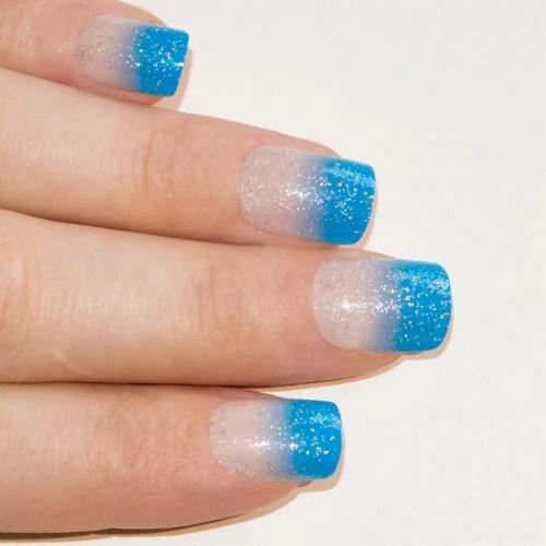 decoraciones de uñas azul Se utiliza para decorar las uñas y diseñar su propio estilo y patrón