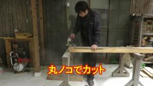 ログハウスの軒に柱を交換!完成動画.mp4_1794464666