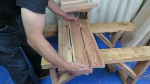 超かんたんDIY 誰でも作れるベンチ (7)