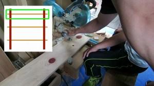10歳の息子と棚作り2 (16)