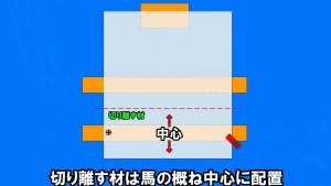 【DIY入門】丸ノコを使いこなす 「馬」の活用法 広い材を切るコツ (16)