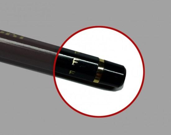 ハイユニ鉛筆とユニ鉛筆の見分け方