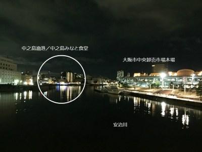 大阪 中之島漁港 中之島GATE 中之島みなと食堂 大阪市中央卸売市場 バーベキュー