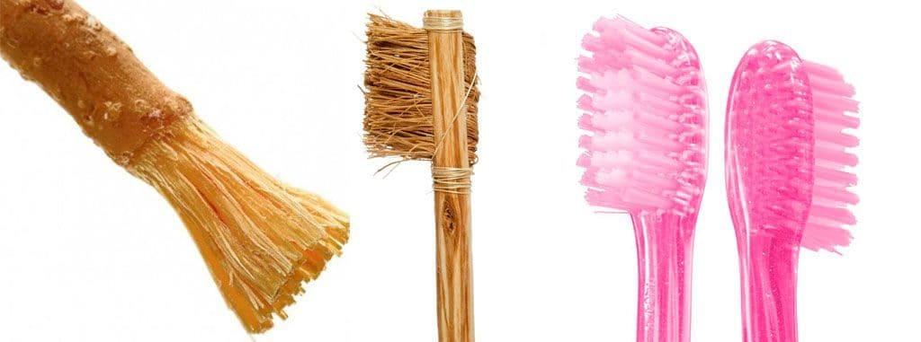 Эволюция зубных щеток