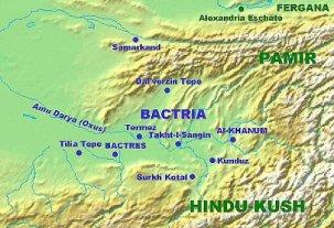 Бактрия - страна в Азии