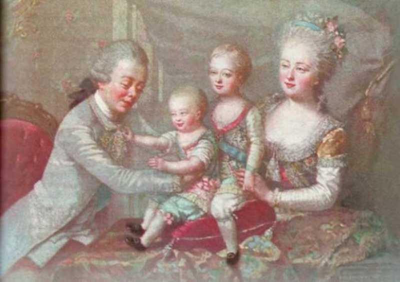 император Павел I с детьми