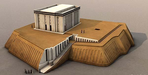 храмы шумерской цивилизации