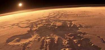 изменения на Марсе