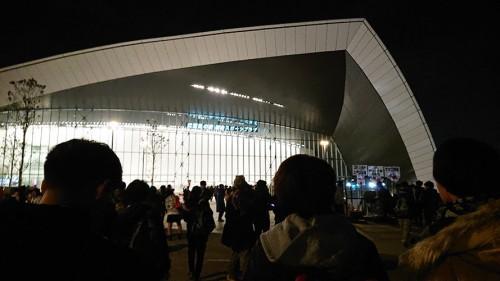 最終決戦前夜祭会場の様子