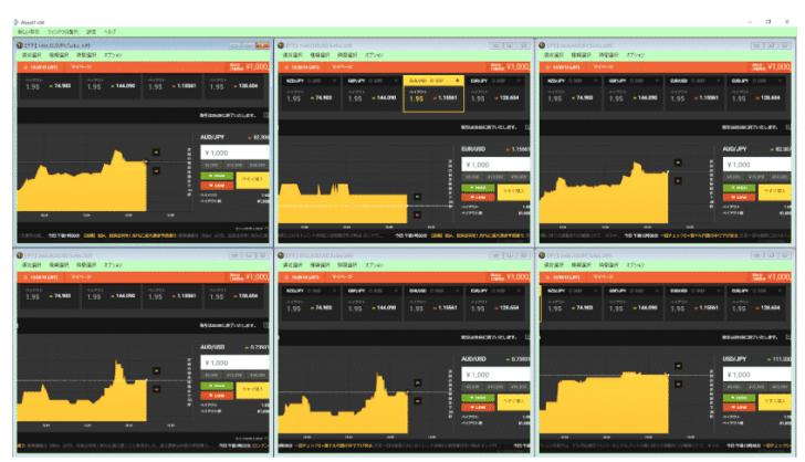 シグナルを自動売買化する、バイナリー専用自動売買システム『ABSOL7』