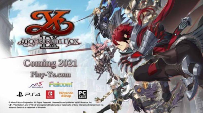 【ソフト情報】『イース9』海外Switch版の発売日が2021年夏に決定!!