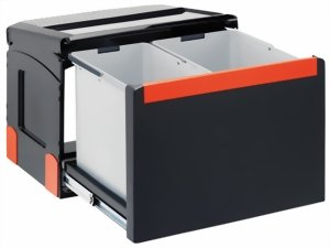Einbau Mülleimer Küche | Franke Sorter Cube 50 134 0055 291 Einbau Abfallsammlsystem