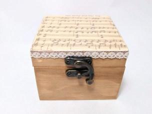 Caja cuadrada partitura
