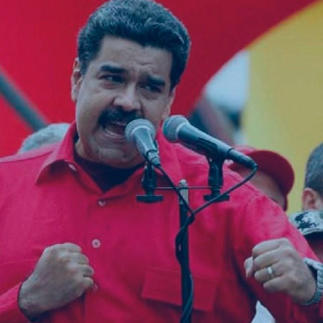 Maduro arremete contra todos porque está perdido
