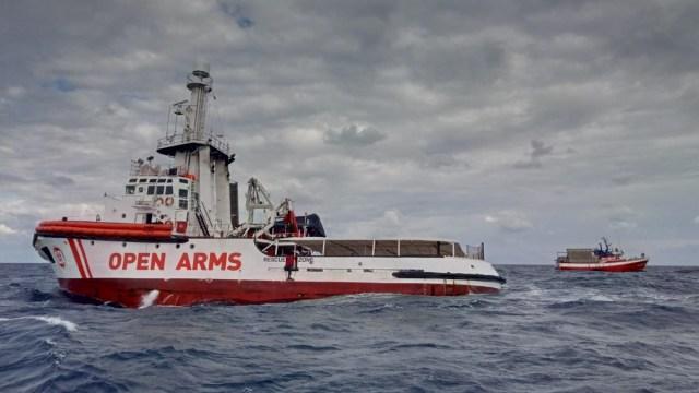 Italia acogerá al bebé de Open Arms que necesita ser evacuado y a su familia