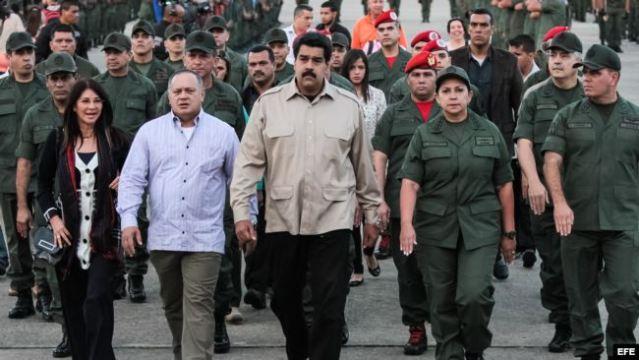 Maduro militariza aún más labores de seguridad ciudadana