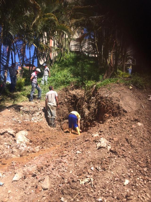Nueva fractura de tubería matriz de Hidrocapital impide bombeo de agua en Los Salias