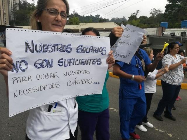 Enfermeras sanantoñeras advierten que se mantendrán en protesta