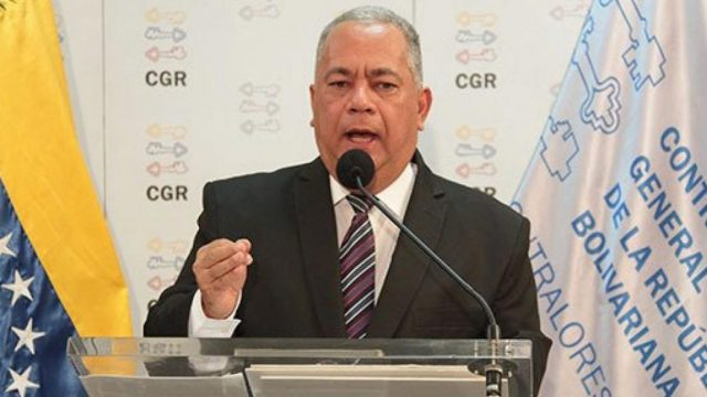 Elvis Amoroso anunció el bloqueo de las cuentas de diputados opositores