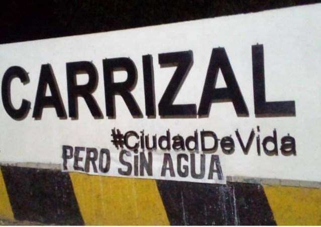 """Critican """"silencio cómplice"""" de autoridades carrizaleñas ante crisis por falta de agua"""